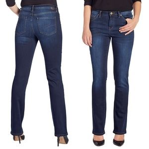 Jag Jeans Atwood Boot Leg Jeans Mid rise Dark 8